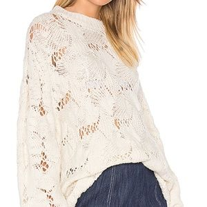 See by Chloe Pullover Sweater in Cream